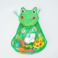 Juguetero red baño frog