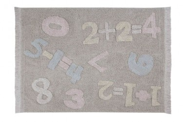 Alfombra Lavable Baby Numbers