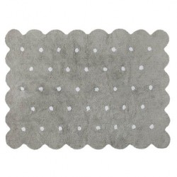 Alfombra Lavable Biscuit Grey