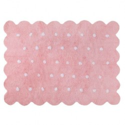 Alfombra Lavable Biscuit Pink