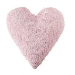 Cojín Lavable Heart - Pink