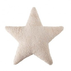 Cojín Lavable Star - Beige