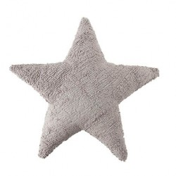 Cojín Lavable Star- Light Grey